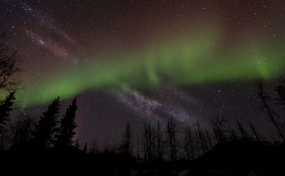 alaska northern lights aurora borealis photo