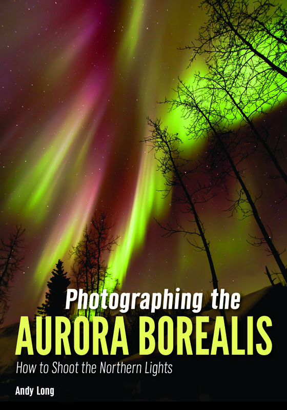 photographing the aurora borealis book cover