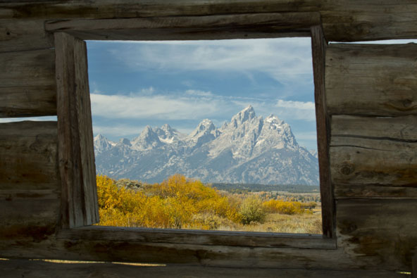tetons cunningham cabin and grand teton