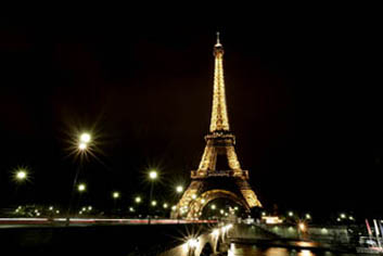 eiffel tower, paris, france, night photography, bridge, Seine River