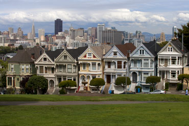 painted ladies san francisco photo