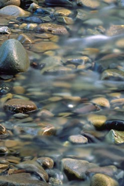 rocks in the stream water landscape nature photo